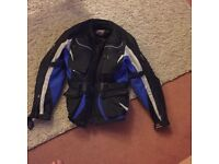 Motorcycle jacket 17 year old c/w inner jacket in good condition