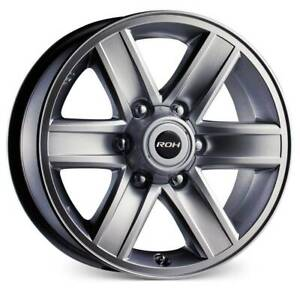 """HILUX 4X4 ROH RTX 17"""" ALLOY WHEEL Kedron Brisbane North East Preview"""
