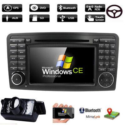 Autoradio für Mercedes Benz ML/GL-Klasse W164 X164 Navi GPS DAB+ Bluetooth 5.0