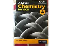 A level Chemistry OCR