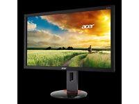 "27"" Acer Predator XB270HAb -1080p G-Sync-3D Vision 1ms 144hz gaming monitor"