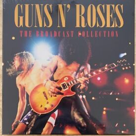 Guns N Roses - The Broadcast Collection 4LP Box Set