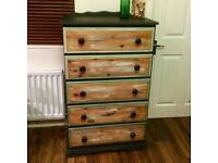 Hand painted large chest of drawers *new lower price*