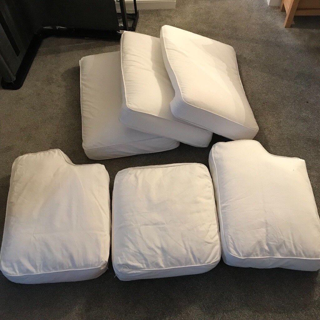 3 seat ikea ektorp pixbo sofa bed cushions and cover in wheatley rh gumtree com