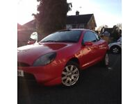 Cheap Ford Puma reliable run around with alloy wheels.