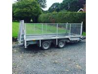 Ifor Williams 3.5tonne plant trailer