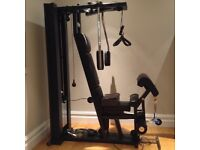 Technogym Unica luxury Multi Gym. Practically unused