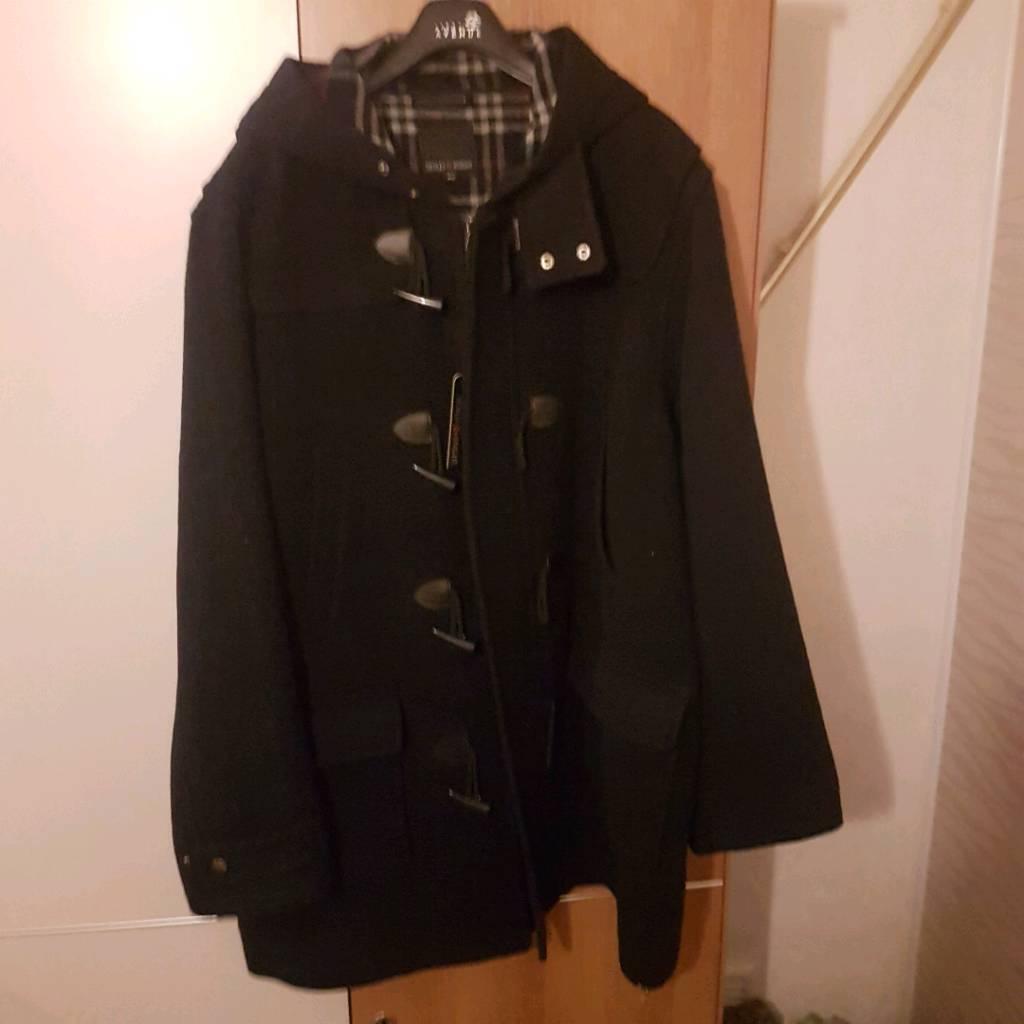 Men's 3XL duffle coat