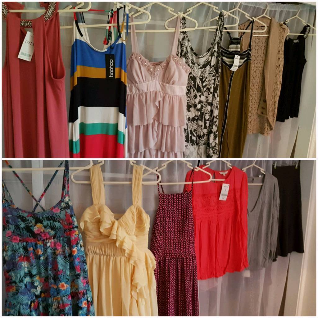 Womens clothes sizes 8 to 16 large bundle