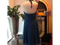"""Beautiful """"Marilyn Monroe"""" dress in colour petrol"""