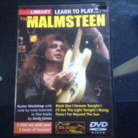 Malmsteen Tutorial DVD