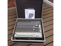 1200w powered mixer amp with fx