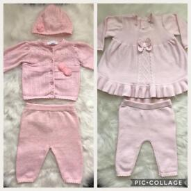 Two baby girl designer suits