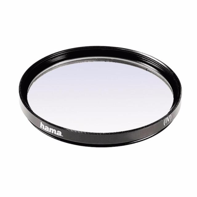 NEW HAMA 52MM COATED UV FILTER LENS PROTECTOR ULTRA THIN 3MM METAL MOUNT 70052