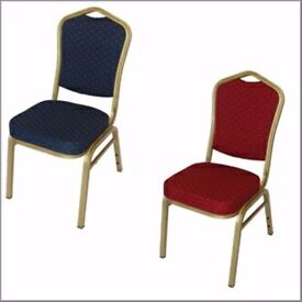 banqueting chair covers (white polycotton) wedding / event