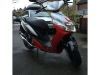 Yamaha jog rr 50cc moped