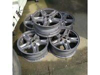 "16x7"" alloys from Discovery 2"