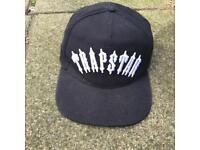 Trapstar black snapback cap