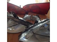 FORD FOCUS SET OF LIGHTS,,FROM FOCUS GHIA 51 PLATE