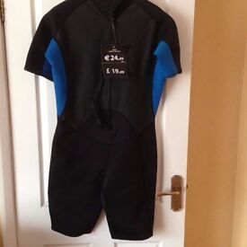 Wet Suit Unused (short sleeves and legs)
