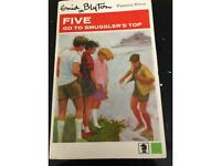 Five go to Smugglers Top by Enid Blyton 1967
