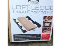 3 X unopened packs of Loft Ledge for additional loft storage space