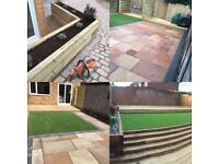 Fencing-decking-block paving- turfing-groundworks-landscaping
