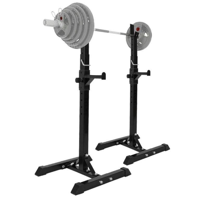 Squat Rack Barbell Free Bench Press Portable Dumbbell Rack A