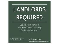 Landlords Required