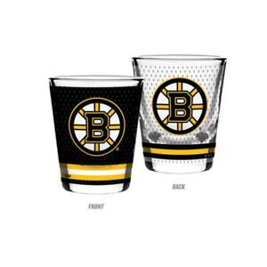 Boston Bruins 2 Ounce Jersey Style Collector's Glass (New) Alberta Preview