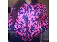 Women's size 6-8 adidas bomber jacket