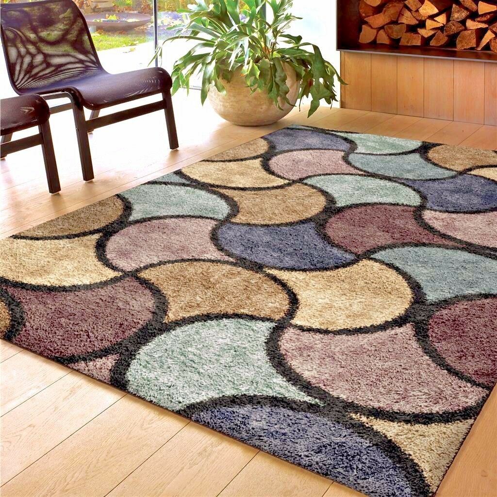 Rugs area rugs 8x10 area rug carpet shag rug large living - Living room area rugs contemporary ...