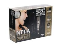 RODE NT1-A COMPLETE VOCAL RECORDING SOLUTION SET RRP £145