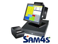 Sam4s Touch Screen Till Rental (perfect for The Hospitality & Licencing Trade)