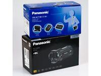 NEW Panasonic HC-VX870 4K Camcorder Kit + Extras   Warranty + Receipt