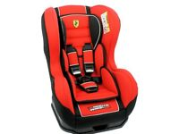 brand new Ferrari Cosmo SP Group 0-1 Car Seat in Red