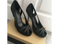 Carvel Black Heels - size 6/6.5