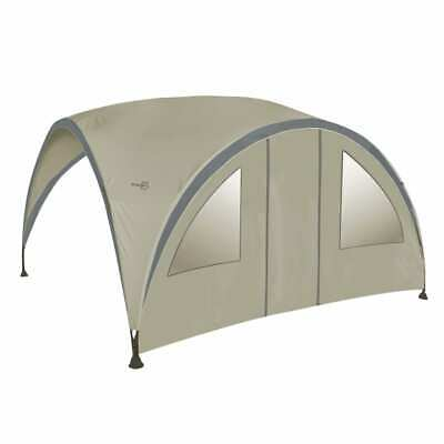 Bo-Garden Side Wall with Door for Party Shelter Large Beige Waterproof Shade