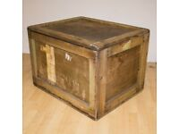 Wooden Box Crate Vintage