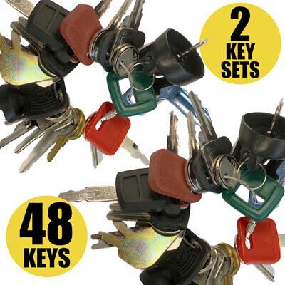 Heavy Equipment Machines Construction Equipment Master Key Set 24 Keys