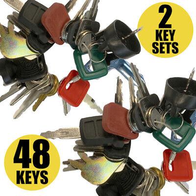 Heavy Equipment Machines Construction Equipment Master Key Set 24 Keys