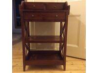 Beautiful acacia wood console table