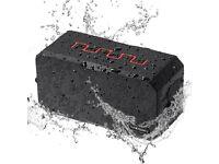Waterproof Bluetooth Speaker IP67 3000mAh Power Bank Microphone Micro SD NEW