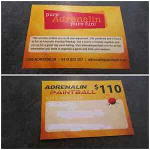 Adrenalin paintball voucher South Mackay Mackay City Preview
