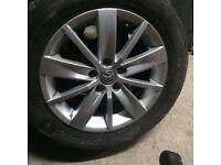 Vw 15 inch alloy wheel 5x112