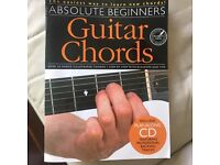 Learn to play guitar - free book to collect from Canary Wharf