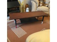 Hornby designed Retro Coffee Table - Vintage Coffee Table - Danish Teak table