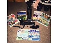 Wii + Games + Wii Board