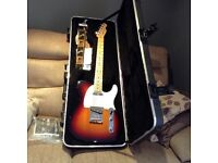 USA FENDER TELECASTER ELECTRIC GUITAR AND AMP