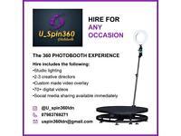 360 Photobooth experience